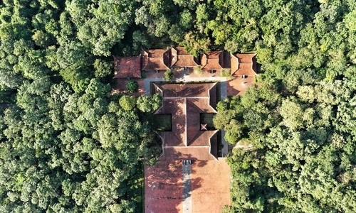An ancient Vietnamese citadel remains isolated from modern life