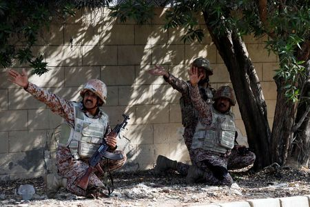 Rebels attack Chinese consulate in Pakistan's Karachi, two police killed