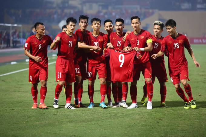 Vietnam give emotional shout out to injured teammate during Cambodia win