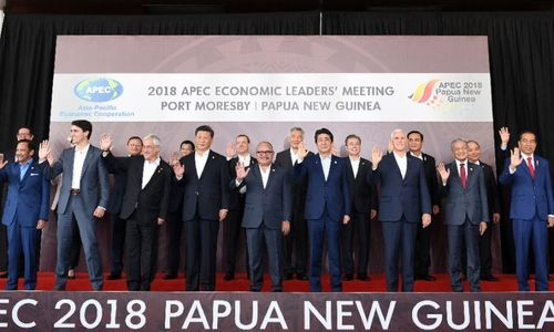APEC host says WTO and trade row scuppered joint declaration