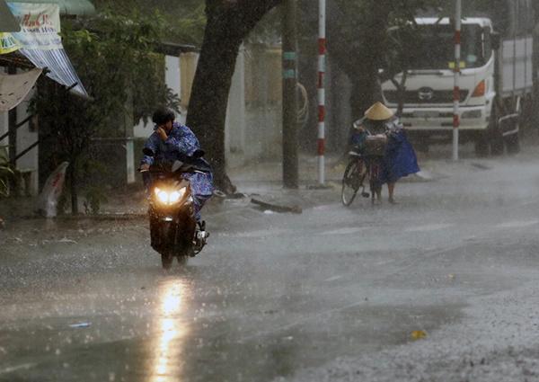 Heavy rains, strong winds lash Vung Tau as storm Usagi approaches