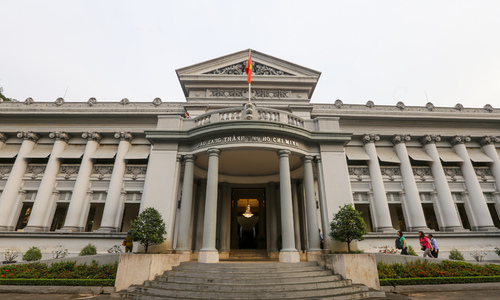 Saigon's secret underground bunker in a 100-year-old building