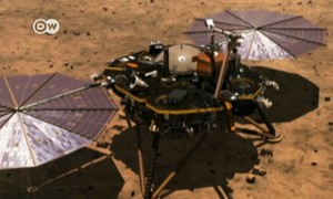 NASA's 'Insight' lands on Red Planet