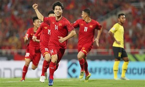 Two Vietnamese football stars named in AFF Championship Best XI