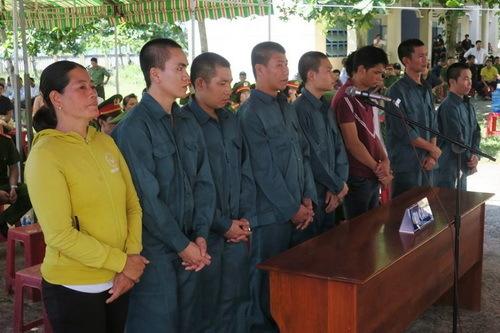 Vietnam jails nine more for violent SEZ law protests