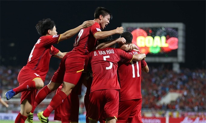Vietnam back in top 100 FIFA rankings