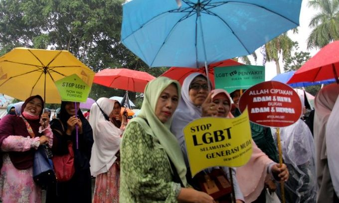 Indonesian city to fine LGBT for being 'public nuisance'