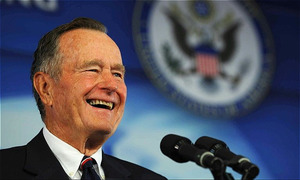 Former US president George Bush, head of political dynasty, dead at 94