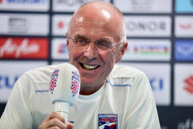 Head coach Sven-Goran Eriksson. Photo by VnExpress/Duc Dong