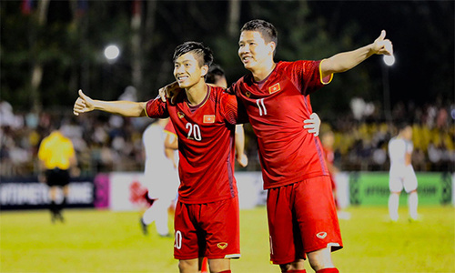AFF highlights: Vietnam win 2-1 at semifinal first leg match with Philippines