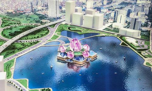 Hanoi seeks new investors for grand 'floating' theater
