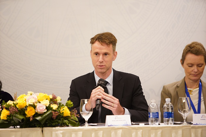 Roeland Roelofs, country president of Novartis Vietnam, said his company is committed to improving the countrys healthcare sector with regards to quality, cost and accessibility.