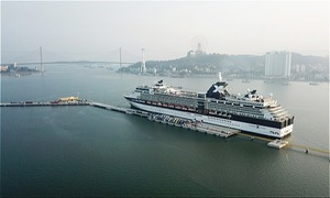 New Halong passenger terminal berths first cruise vessel