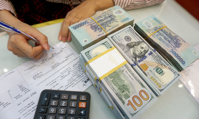 Vietnamese Currency Falls To New Low