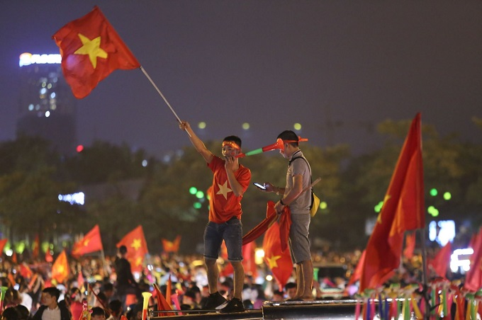 AFF Cup: Nation smothered in red as Vietnam enters final - 4