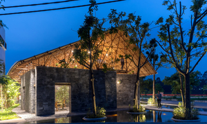A beautiful communal house rises from rubble in north Vietnam