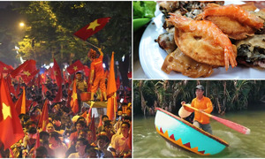 Weekly roundup: Football joy, Hanoi food tour, Hoi An coracle and more
