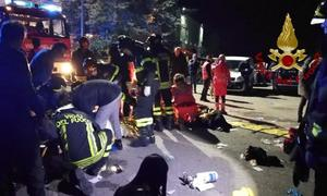 Six people, mostly teenagers, killed in Italy nightclub stampede