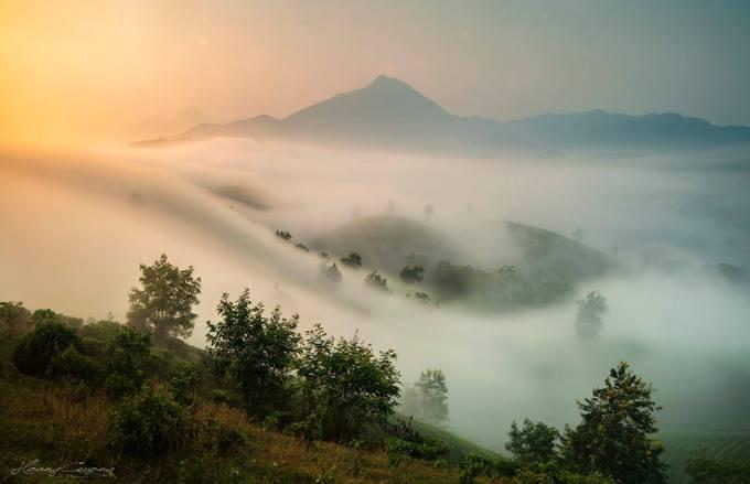 Stuff of dreams: stunning vistas of Long Coc tea hills - 4