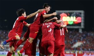 Vietnam enjoys longest active unbeaten streak in world football