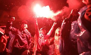 Vietnamese fans roar their support as AFF final gets underway