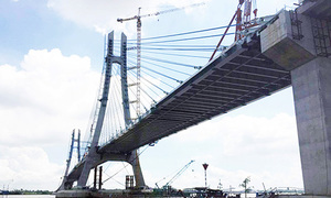 Mekong Delta bridge set to open in months, after years of waiting