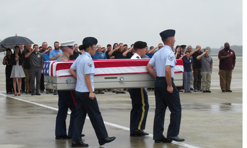 Vietnam returns remains of three US soldiers