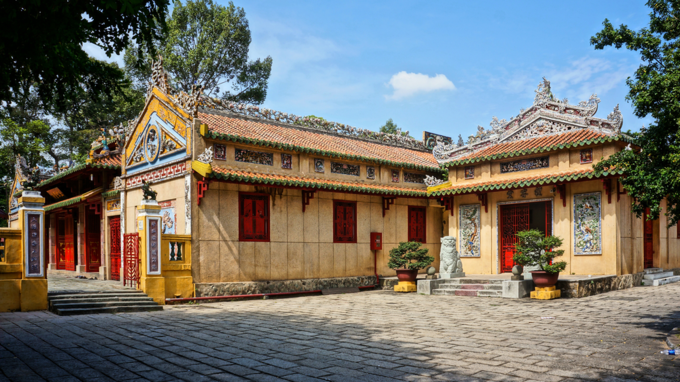 Le Van Duyet temple in Ho Chi Minh City with ancient and traditional architect. Photo by Shutterstock/xuanhuongho