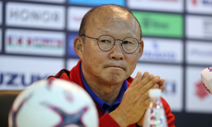 AFF Cup final: Make more noise, coach tells Vietnamese fans