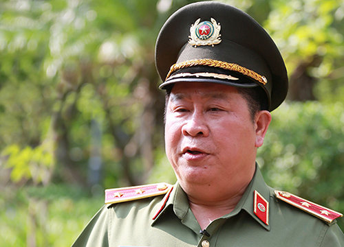 Former Deputy Minister of Public Security Bui Van Thanh. Photo by VnExpress/Ngoc Thanh