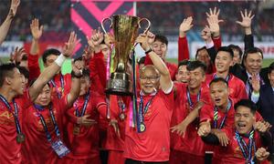 Coach Park Hang-seo dedicates AFF Cup win to Vietnamese fans