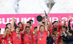 International media lauds Vietnam's AFF Cup win