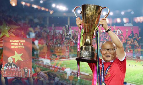A year of records for Vietnamese football with coach Park Hang-seo at the helm