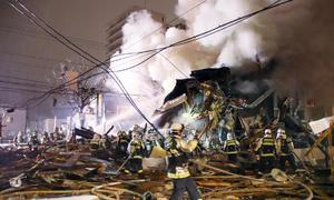 More than 40 injured in explosion in Japan's Sapporo: Kyodo