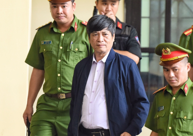 Nguyen Thanh Hoa,former director of the ministrys Department for High-Tech Crime Prevention. Photo by VnExpress/Giang Huy