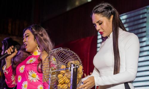 LGBT troupes set Saigon stages alight with cabaret-bingo shows