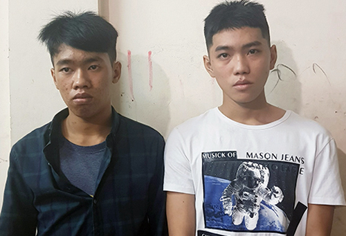 Teenagers caught robbing South Korean couple in Saigon's backpacker district