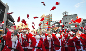 In pictures: Christmas around the world