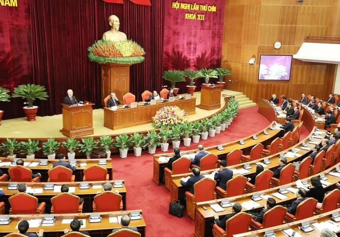Vietnam Communist Party plenum evaluates key personnel