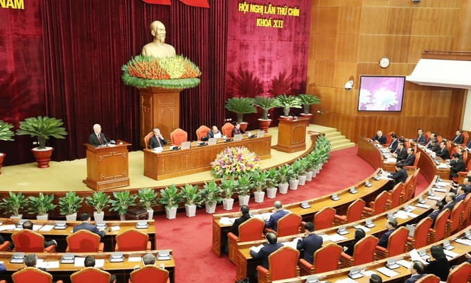 Vietnam Communist Party plenum evaluates key personnel
