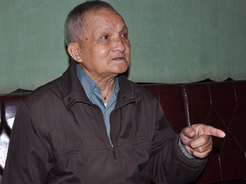 Former Hanoi scout Dang Van Tich. Photo by VnExpress/Viet Tuan