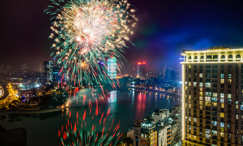 Hanoi says fireworks only for Tet, Lunar New Year