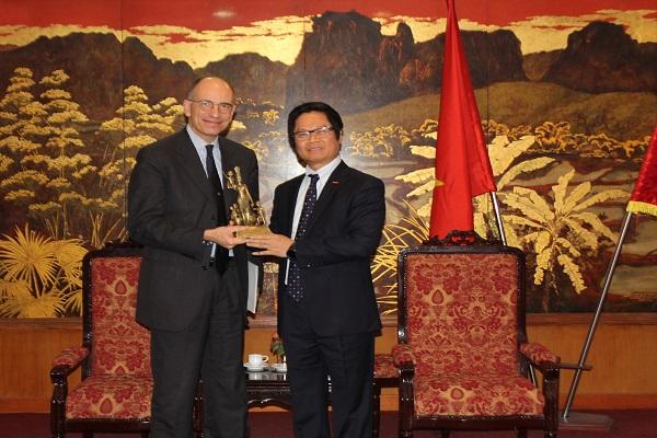 Vietnam, Italy seek to strengthen business ties
