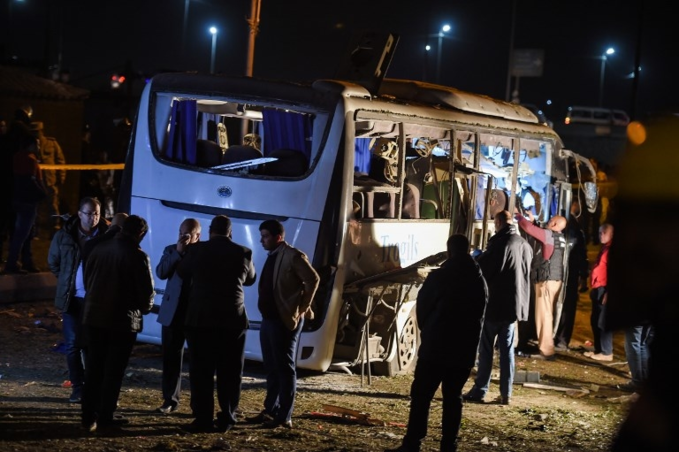 Scenes of bus blast that killed three Vietnamese tourists in Egypt - 6