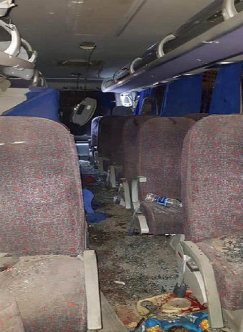 Scenes of bus blast that killed three Vietnamese tourists in Egypt - 4