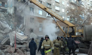 Russian apartment block blast kills three, dozens missing: agencies