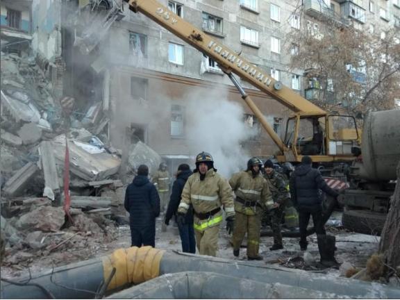 Russian apartment block blast kills three, dozens missing: agencies
