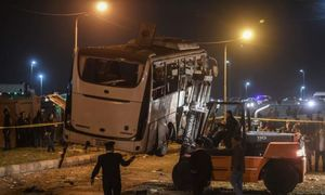Vietnamese relatives of bus blast victims arrive in Egypt