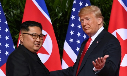 Kim warns N. Korea could consider change of tack