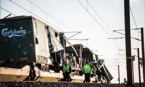 Six killed in train accident on bridge in Denmark